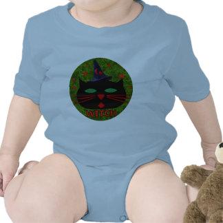 Bruja del gatito trajes de bebé