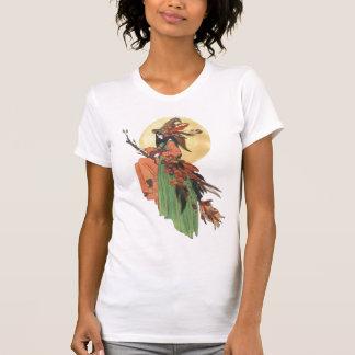 Bruja del otoño camiseta