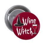 Bruja del vino pins