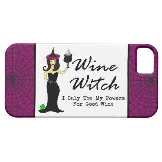 "Bruja del vino ""utilizo solamente mis poderes para funda para iPhone SE/5/5s"