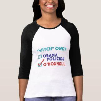 """Bruja divertida"" una - Christine O'Donnell Camisetas"