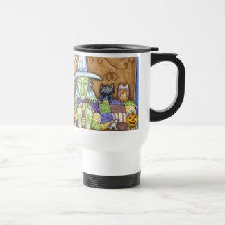 Bruja durmiente tazas de café