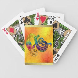 Bruja encantadora de la serpiente baraja de cartas