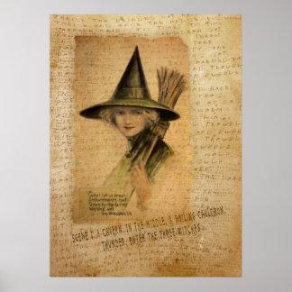 Bruja encantadora póster
