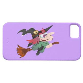 Bruja escoba witch broom iPhone 5 fundas