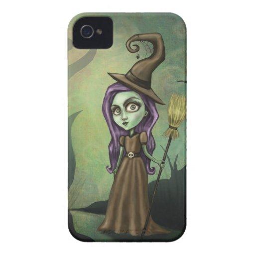 Bruja gótica de Steampunk iPhone 4 Cárcasa