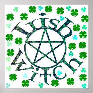 Bruja irlandesa póster