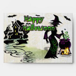 Bruja mágica de Halloween