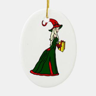 Bruja pagana de Yule Adorno De Reyes