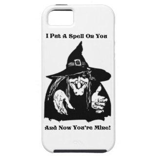 Bruja que pone un encanto en usted iPhone 5 protectores