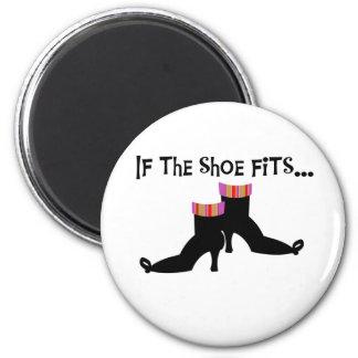 Bruja si los ajustes del zapato imanes