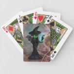Bruja traviesa barajas de cartas