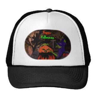 Bruja traviesa de Halloween Gorro De Camionero
