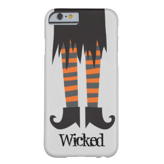 Bruja traviesa Halloween divertido Funda De iPhone 6 Barely There
