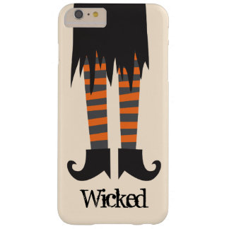 Bruja traviesa Halloween divertido Funda De iPhone 6 Plus Barely There