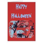 Bruja traviesa o f Halloween 2 Felicitación