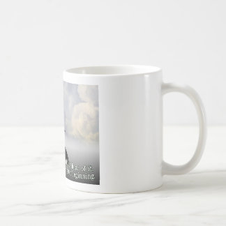 Bruja traviesa taza básica blanca