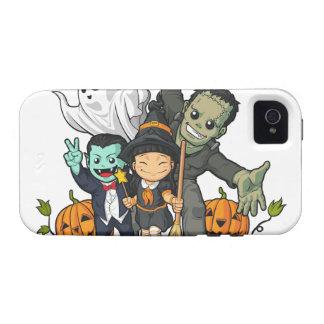 Bruja vampiro Frankenstein y fantasma de Hallowe