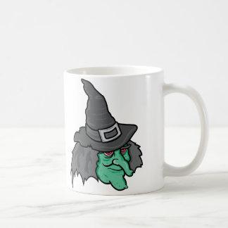 Bruja verde taza clásica