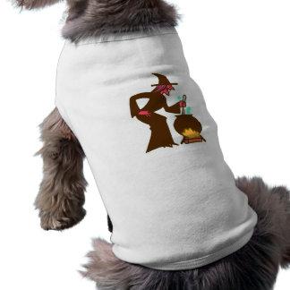 Bruja witch víspera de todos los santos t-shirts de mascota