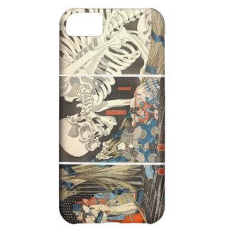 Bruja y el iphone esquelético 5 de Takiyasha del e Funda Para iPhone 5C