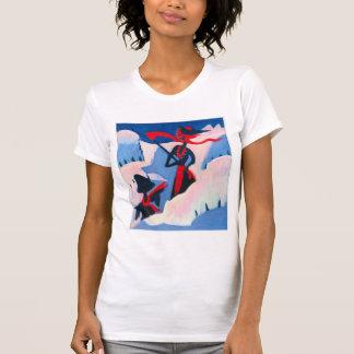 Bruja y espantapájaros de Ernst Kirchner- en la ni Camiseta