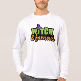 Bruja y famoso camiseta