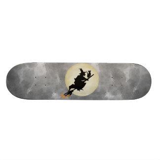 Bruja y gato tablas de patinar