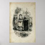 Brujas antiguas de Halloween Impresiones