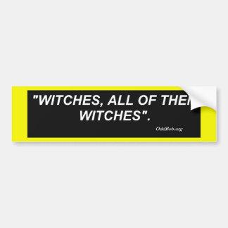 Brujas Pegatina Para Auto