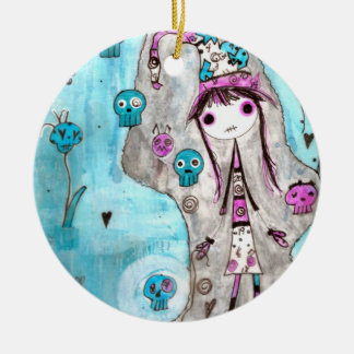 Brujas caprichosas Marci Ornamento De Navidad