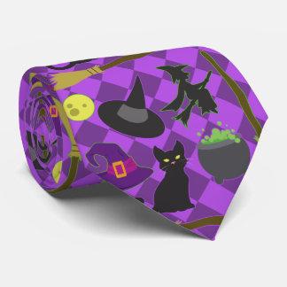 Brujas de Halloween Corbatas Personalizadas