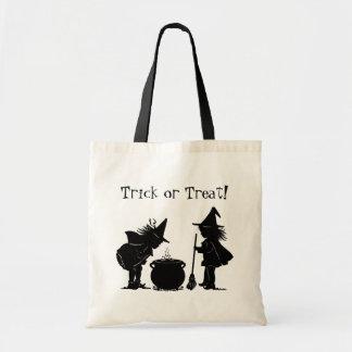 Brujas del bolso dos del truco o de la invitación  bolsa de mano