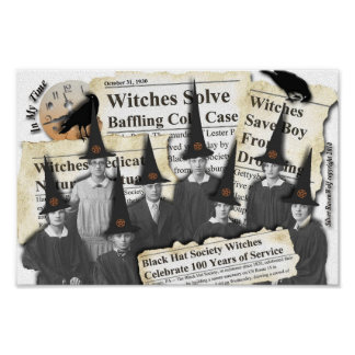 ¡Brujas en las noticias! Poster