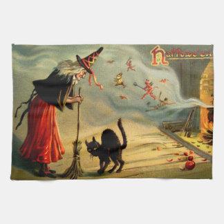 Brujas mágicas toallas de mano