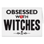 Brujas obsesionadas tarjetas