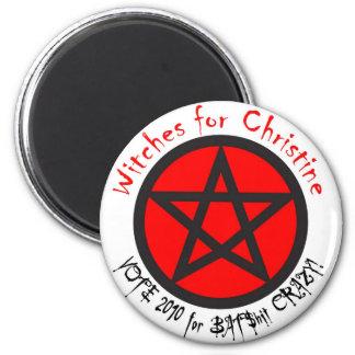 Brujas para el imán de Christine
