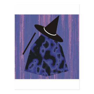 Brujas y magos postales