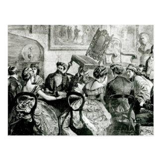 Brujería, 1871 postal