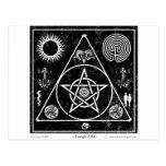 Brujería: El triángulo del arte Tarjetas Postales