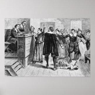 Brujería en el pueblo de Salem Impresiones