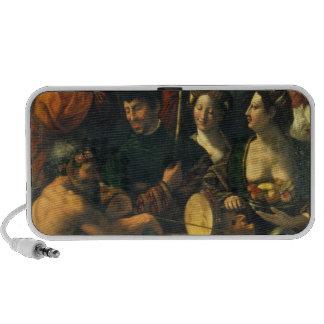 Brujería o alegoría de Hércules, c.1535 (aceite en Notebook Altavoz