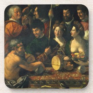 Brujería o alegoría de Hércules, c.1535 (aceite en Posavasos