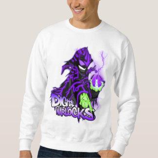 Brujo de la púrpura de los brujos de Digitaces Sudadera Con Capucha