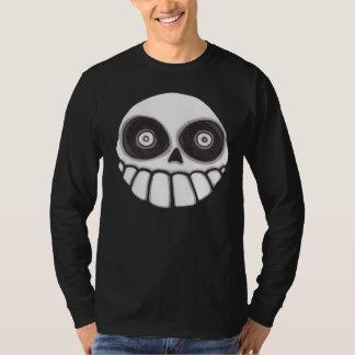 Brujos Locos Skull Men's Long Sleeve T-Shirt