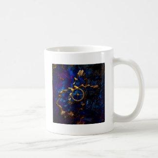 Brújula del tiempo tazas de café
