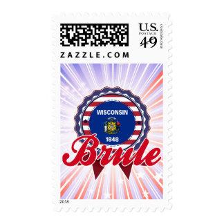 Brule, WI Stamp