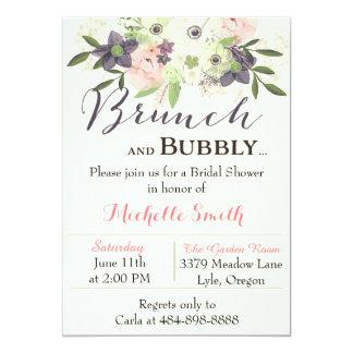 Bridal Shower Brunch Invitations Announcements Zazzle