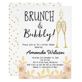 champagne brunch invitations & announcements | zazzle, Einladung