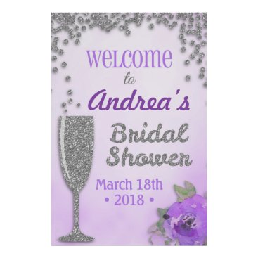 Art Themed Brunch and Bubbly Bridal Shower Welcome Sign